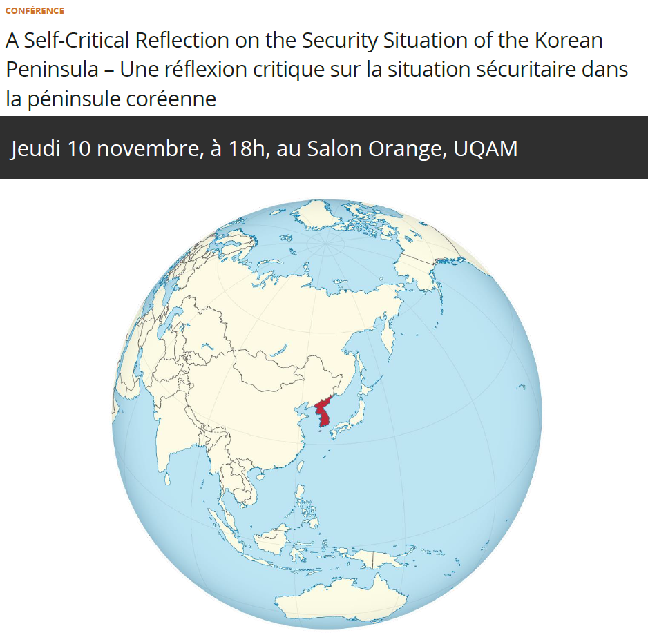 A Self-Critical Reflection on the Security Situation of the Korean Peninsula