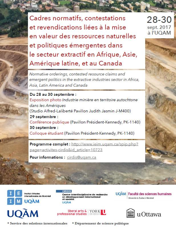 Industrie minière en territoire autochtone dans les Amériques