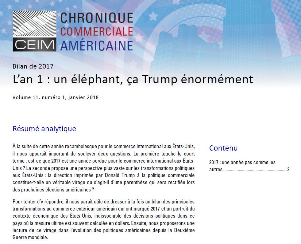 L'an 1 : un éléphant, ça Trump énormément