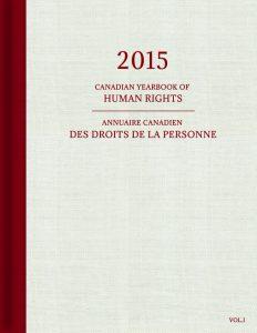 2015 Annuaire canadien des droits de la personne