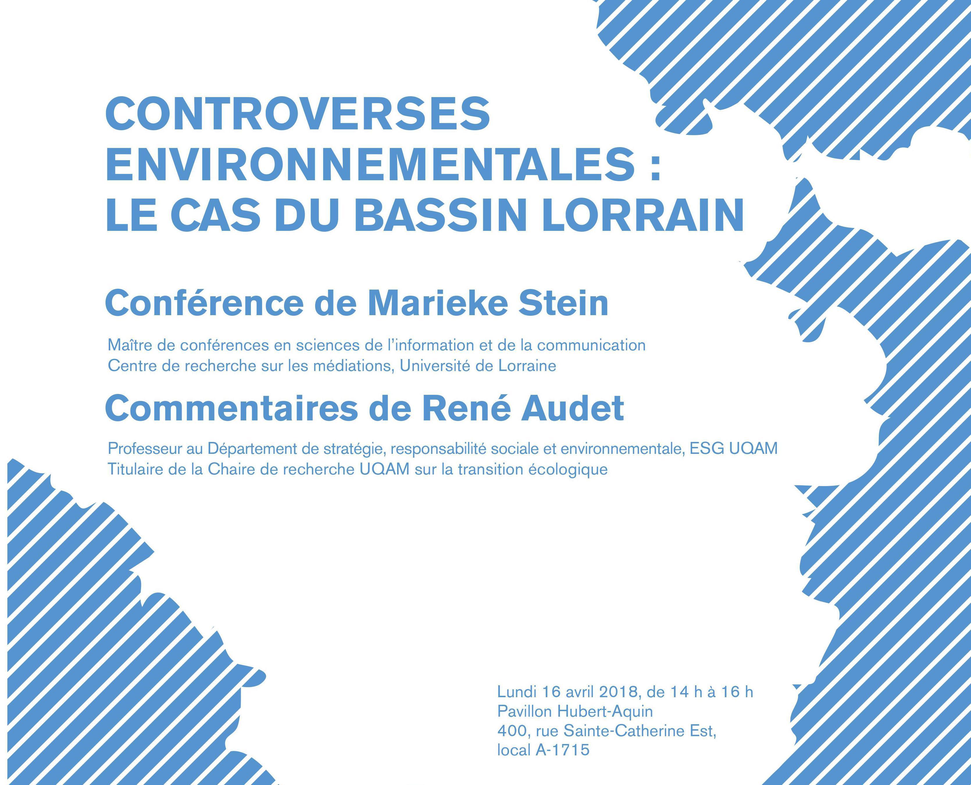CONTROVERSES ENVIRONNEMENTALES: LE CAS DU BASSIN LORRAIN
