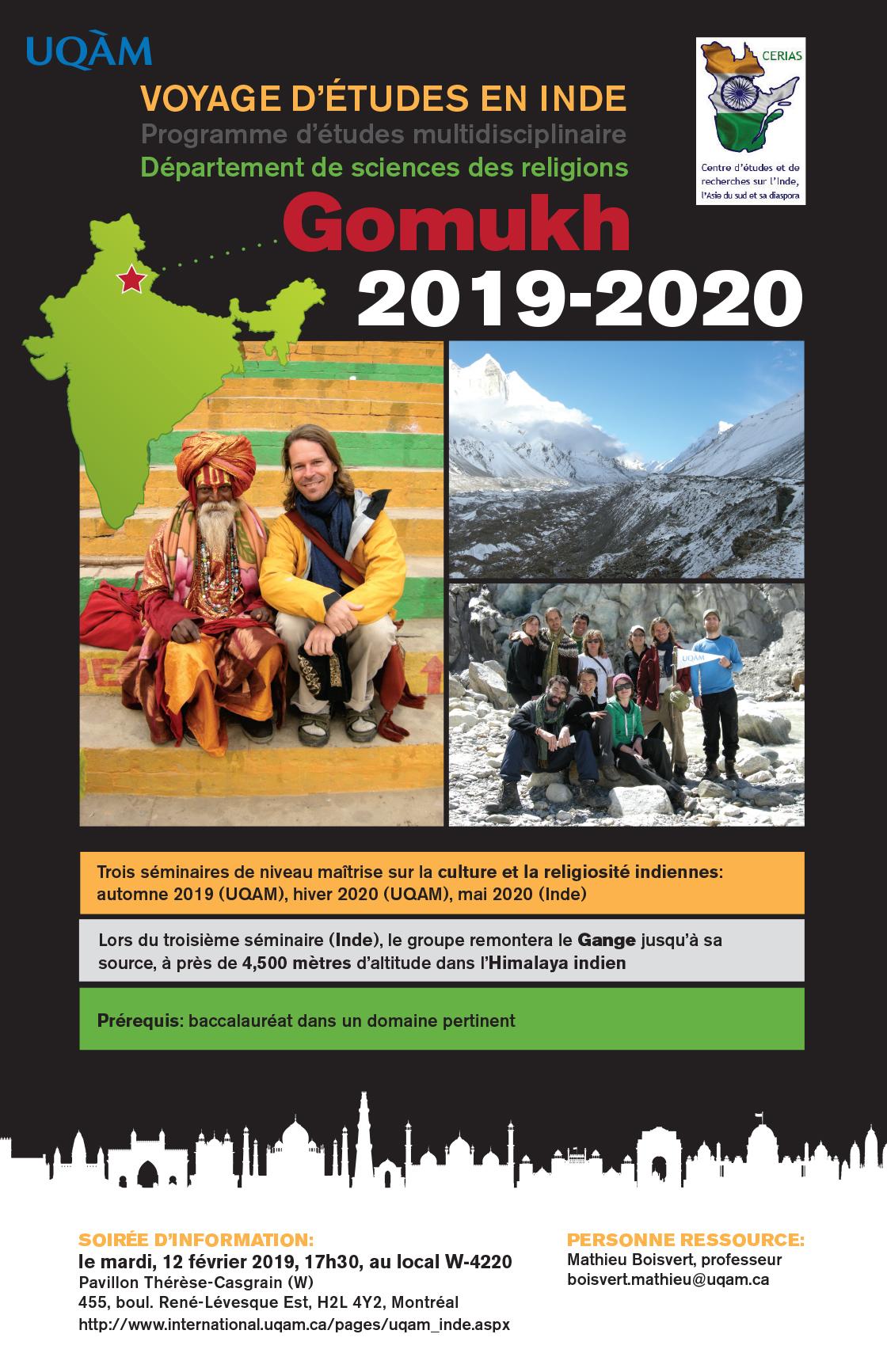 Programme Gomukh 2019-2020