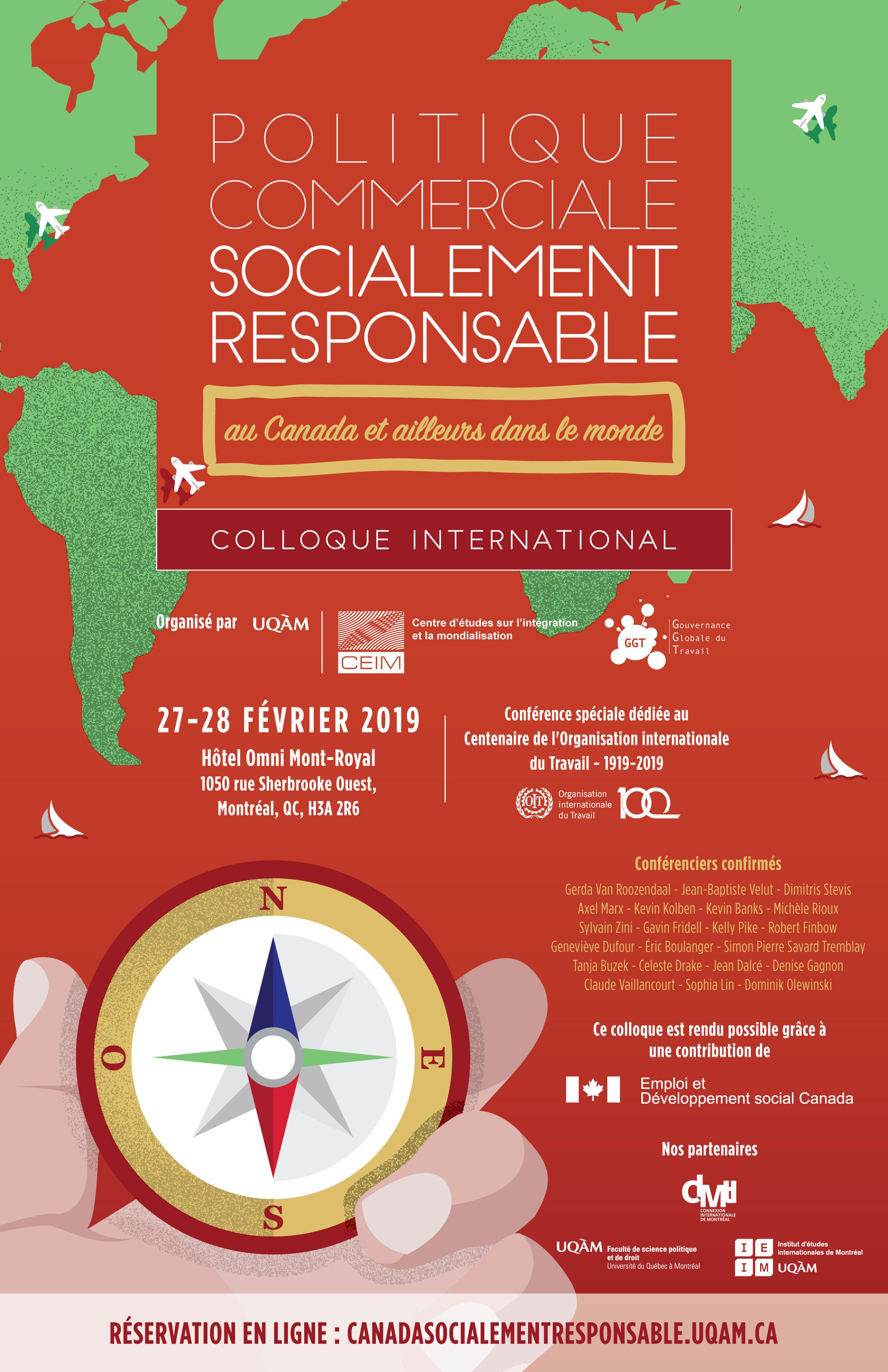Politique commerciale socialement responsable - au Canada et ailleurs dans le monde