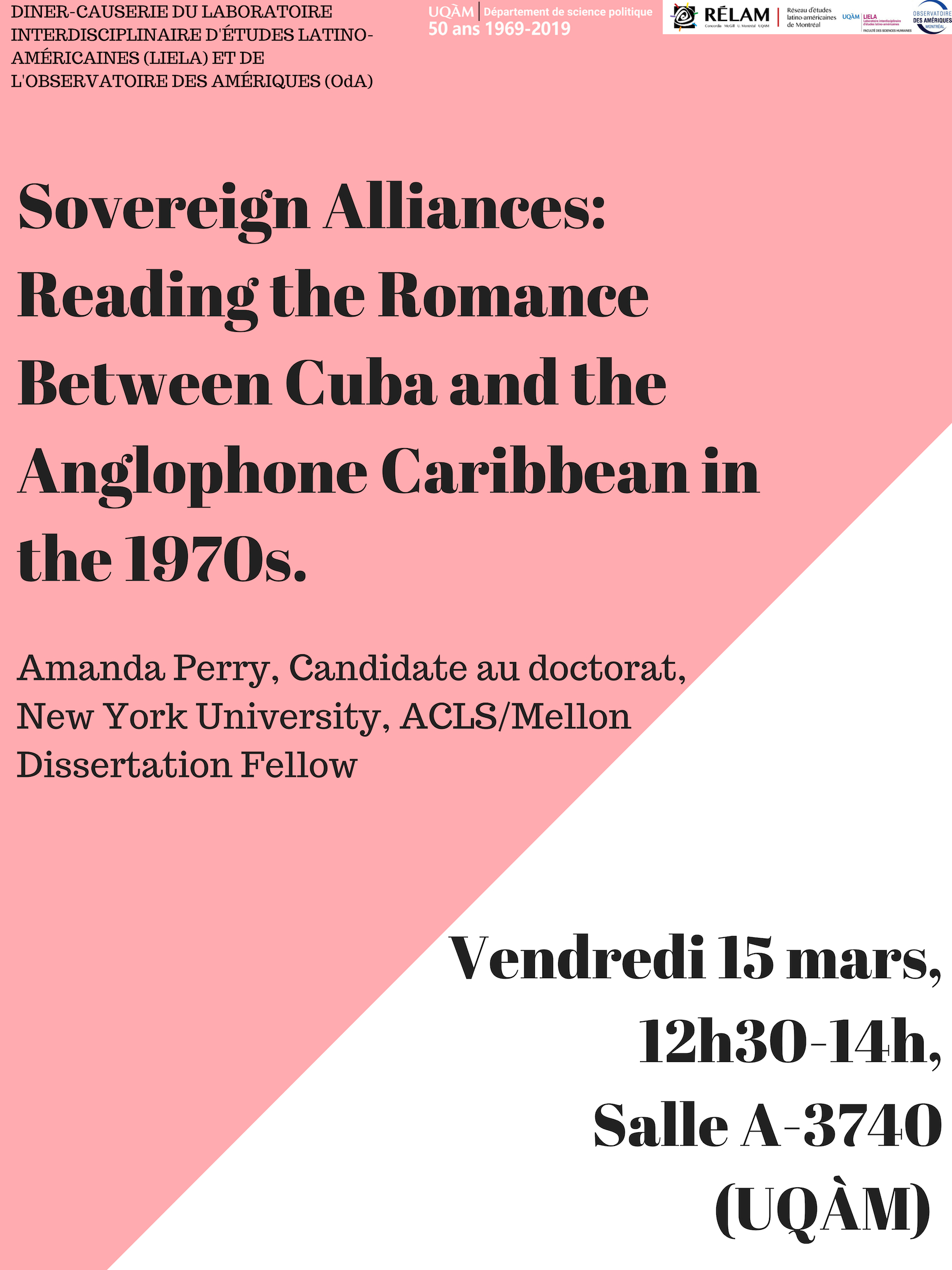 Sovereign alliances: reading the romance between Cuba and the anglophone Caribbean in the 1970s