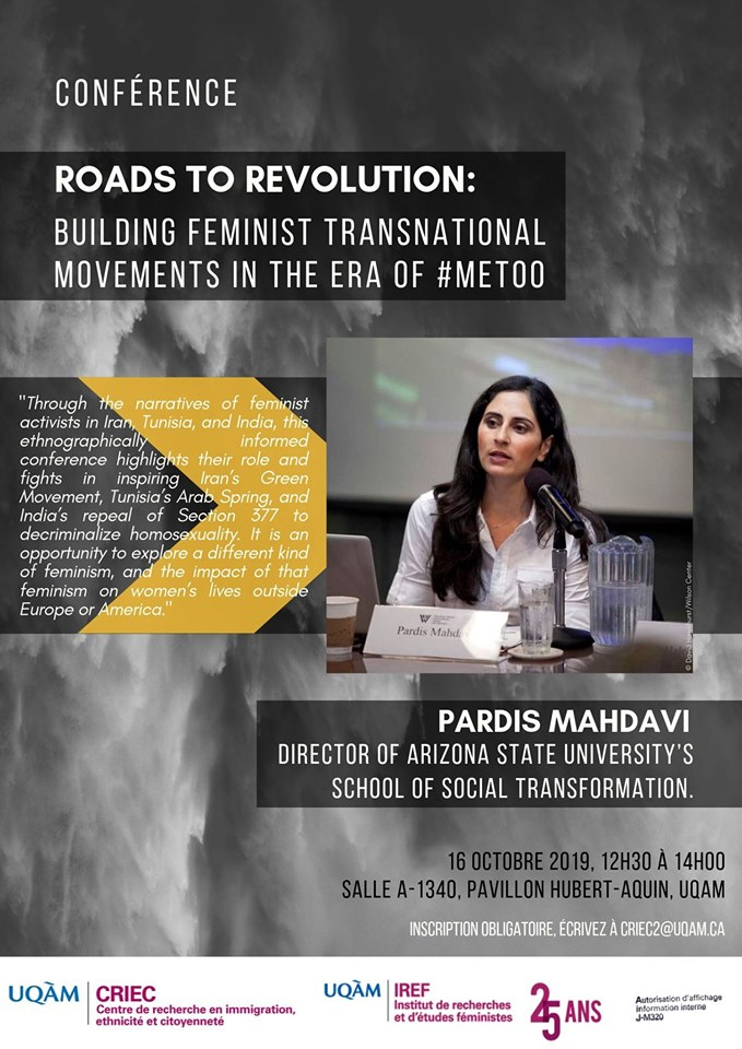 Roads to Revolution : Building Feminist Transnational Movements