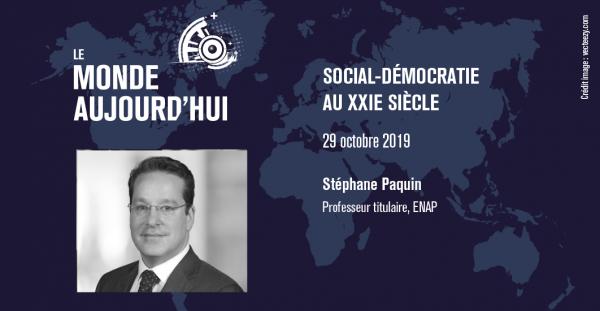 La social-démocratie au XXIe siècle