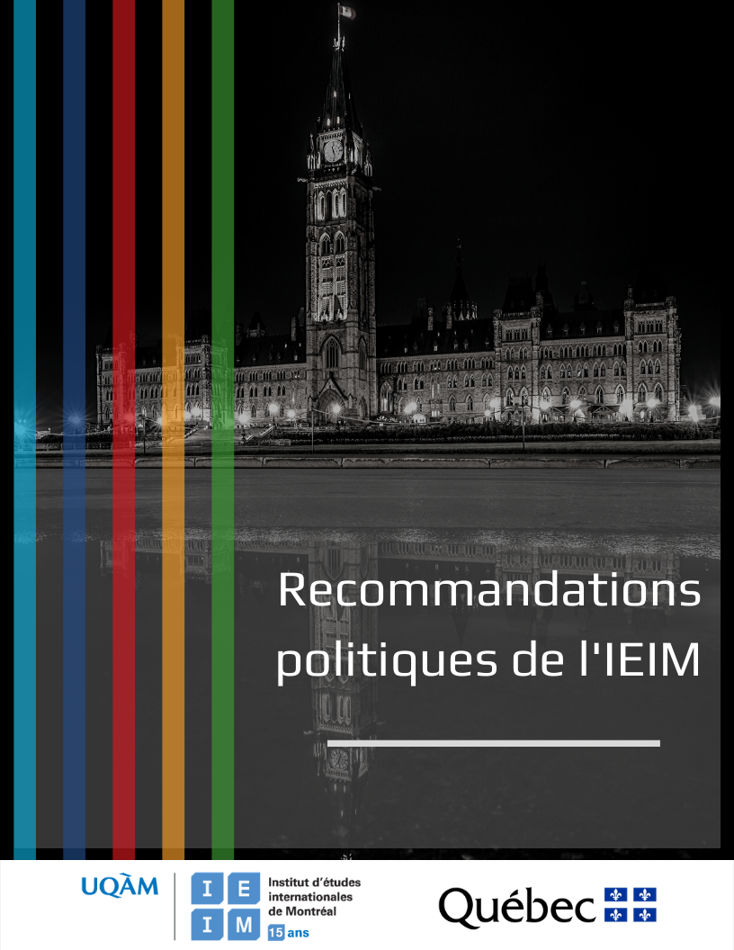 La politique d'aide au développement du Canada: Enjeux et recommandations