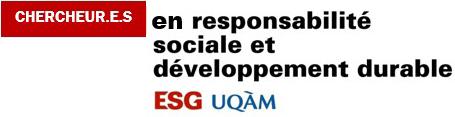 Chercheur.e.s en responsabilité sociale et développement durable (CRSDD)